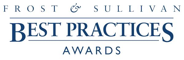 Frost & Sullivan awards graphic